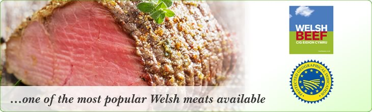 Howells Butchers bring to you Predigee Welsh  Beef